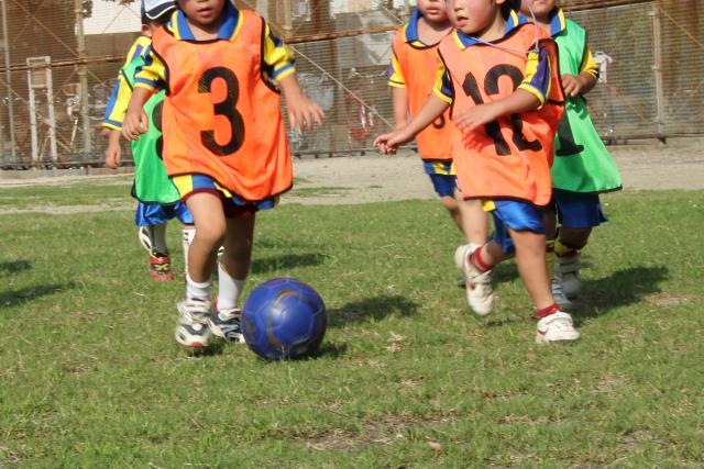 幼児年代のサッカーの練習で大切な事とは?幼児に合った指導法を解説。