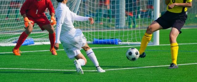 少年サッカーのシュート決定力が上がる!シュート別の練習メニュー。