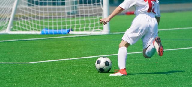 サッカーのシュート・キック力を上げる蹴り方。練習方法を動画で紹介